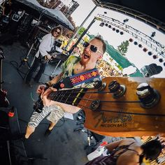 GoProMusic is best when it's shared with friends. Band: @midnightnorth #MusicMonday
