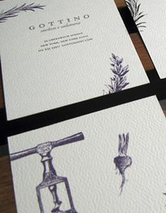 Gottino Restaurant Branding