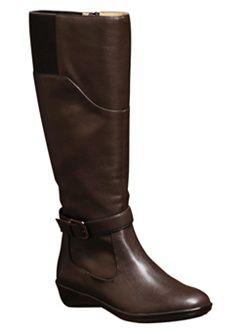 wide calf boot...