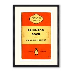 The Penguin Collection - Brighton Rock, Framed Print, 30x40cm