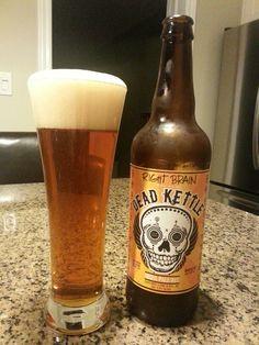 Dead Kettle IPA - Right Brain Brewery,  Traverse City, MI