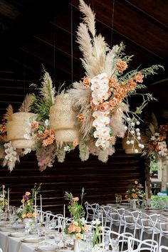 Floral Installation Wedding Flowers are a traditional part of weddings, and are a wonderful way to decorate venues and symbolism the joy and vitality of the wedding ceremony. Boho Wedding, Wedding Table, Floral Wedding, Wedding Ceremony, Art Deco Wedding Flowers, Wedding Bride, Ceremony Backdrop, Wedding Beauty, Outdoor Ceremony