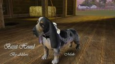 BASSET HOUND pet by Alelore - Sims 3 Downloads CC Caboodle