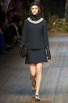 DOLCE & GABBANA – MILAN FASHION WEEK !!