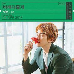 "Baekhyun - 170405 Official SMTown Station Instagram update: ""[#STATION] #엑소 #백현(@baekhyunee_exo) '#바래다줄게 (#TakeYouHome)' 2017.04.14 6PM(KST) #EXO #BAEKHYUN""  Credit: smtownstation."