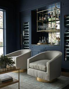 Home Bar Rooms, Home Bar Decor, Bar Home, Custom Home Bars, Custom Homes, Bar Lounge, Modern Home Bar Designs, Modern Bars For Home, Wet Bar Designs