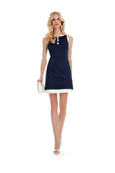 Little Blue Dress - Luisa Spagnoli Look 14