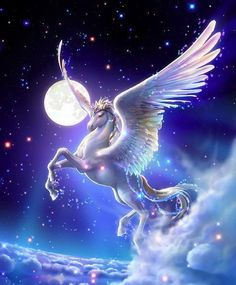 A beautiful Pegasus Unicorn!