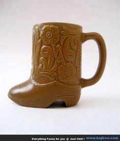 Boot Coffee Mug - 20 Creative And Unique Coffee Mugs............yes