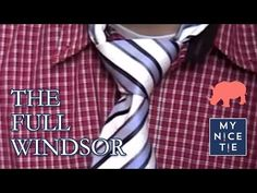 Nate archibald suit tie windsor knot windsor knot pinterest how to tie a tie full windsor slowbeginner how to ccuart Images