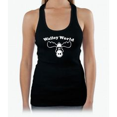 Walley World T-shirt Cool T Shirt Funny T Shirt 80s Movie Bee Movie Womens Tank Top