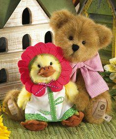 Another great find on #zulily! Daisy Bear & Blossom Duck Plush Bear #zulilyfinds