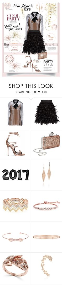 """""""Enjoy a New Year´s Eve"""" by ellie366 ❤ liked on Polyvore featuring Gucci, Alice + Olivia, Miss Selfridge, Tiffany & Co., EF Collection, CARAT* London, Ted Baker, Harry Winston, Effy Jewelry and Stefere"""