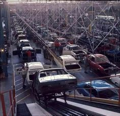 LC torana on the production line in 1969.