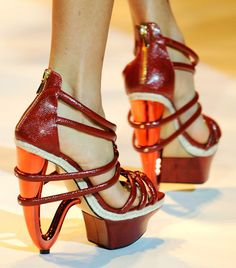 Christian Siriano Spring 2011 Shoes
