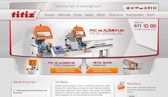 Titiz Makina Statik Web Sitesi - Silüet Tanıtım Web Tasarım