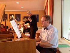 Martin Uhmann (Klavier), Stefan Kölsch (Geige)