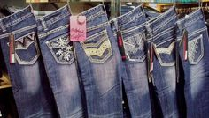Rock & Roll Cowgirl Womens Denim Jeans by Panhandle Clothing Company Cowgirl Jeans, Cool Things To Buy, Stuff To Buy, Clothing Company, Rock And Roll, Denim Jeans, Pants, Clothes, Women