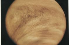 """Odd Cloud Formations on Venus. The strange mystery of the giant """"Y"""" seen in the skies of Venus for more than 50 years may be solved at last: This colossal oddity may be caused by a new kind of wave in the solar system, scientists have found."""