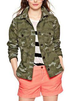 Camo utiliy jacket