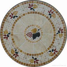 Mosaic Table Top #vintagemaya #mosaic #handcraft #home decor #mosaic table top