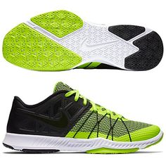 6a2aa94323fc Nike Mens Zoom Train Incredibly Fast BLACKBLACKVOLTWHITE 7 M US     Read  more at the image link. (This is an affiliate link)   exerciseandfitnessmensfootwear