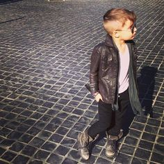 the next James Dean? #style #kid