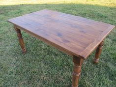 Farm table made of Oak barn wood