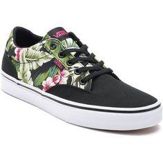 Vans Winston Women's Tropical Palm Skate Shoes