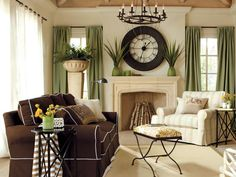 Neutrals That Pop in Colorful and Patterned Slipcovers from HGTV