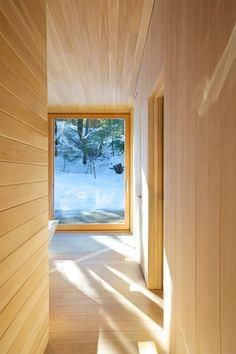 Espacio en madera sugerente y luminoso | #wood #madera #design #architecture