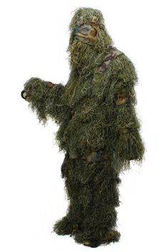 Camouflage Suit Birdwatching Hunting Ghillie Tactical Clothing Split