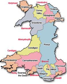 My Homeland.I've lived in Rhyl, Aberystwyth, Tregaron, and Swansea. Gales Cardiff, Cardiff Wales, Wales Map, Welsh Language, Celtic Nations, Aberystwyth, Snowdonia, Cymru, England And Scotland