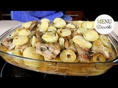 Żeberka wieprzowe pieczone. Idealnie miękkie i soczyste. Sprawdzony domowy przepis. MENU Dorotki. - YouTube Stuffed Mushrooms, Pork, Chicken, Vegetables, Youtube, Dinners, Stuff Mushrooms, Kale Stir Fry, Dinner Parties