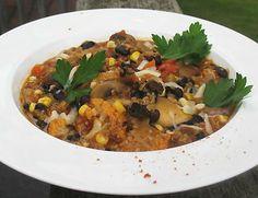 Black Bean and Quinoa Mexican-Style Chipotle Vegetarian Chili