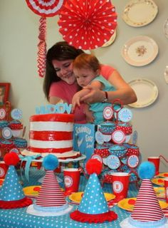 "dr seuss cake pops | Sing loud, ""I am lucky!"" Sing loud, ""I am I!"" ""Today eat whatever you ..."