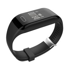 "Fitness Tracker with Heart Rate Monitor, Zomtop H3 Wireless Bluetooth Waterproof Touch Screen Smart Watch Healthy Wristband(Black). Waterproof IP67, can be used when swimming or shower. Oled smart touch screen design, easy access to every function. Capture your continuous wrist-based heart rate, with no chest strap required. Track steps, distance, calories burned, support sedentary remind and calls message alert. App ""HPlus Watch"", compatible with Android 4.4, IOS 7.0 or higher os, please..."