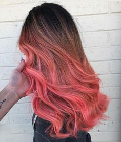 Pulp Riot is the paint. Hair Color Dark, Cool Hair Color, Ombre Hair, Pink Hair, Pulp Riot Hair Color, Beautiful Hair Color, Hair Dye Colors, Coloured Hair, Dye My Hair