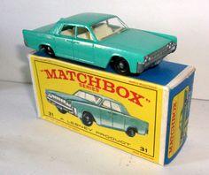 Matchbox Lincoln Continental