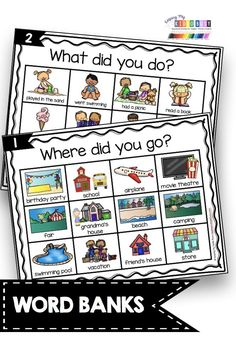NARRATIVE WRITING picture word bank - anchor charts and posters - How to sequence events - writing a narrative with details in order - graphic organizer for putting events in order writing center Narrative Writing Kindergarten, Narrative Writing Prompts, Kindergarten Anchor Charts, Personal Narrative Writing, Writing Curriculum, Writing Anchor Charts, 1st Grade Writing, Kindergarten Centers, Kindergarten Reading