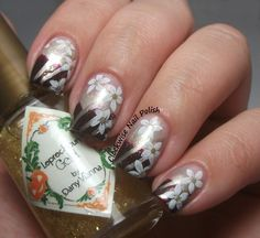 The Clockwise Nail Polish: by Dny Vianna Leprechaun Gold & piCture pOlish Voodoo