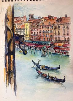 Artist Unknown - Room with a View, Grand Canal, Venice