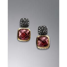 4c1faa6d9830 David Yurman Chiclet Earrings