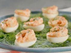 Remoulade Deviled Eggs with Pickled Shrimp Recipe | Katie Lee | Food Network