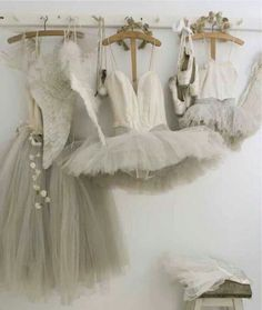 Tutus and dresses and pointe shoes.... What more could a ballerina ask for????