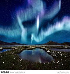 Kutup Işıkları, İzlanda