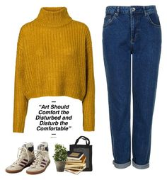 #262 by jaxdm on Polyvore featuring polyvore, moda, style, Vero Moda, Topshop, adidas, Novelty and Public Library