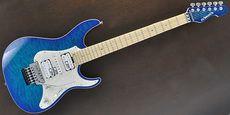 EDWARDS / E-SN-150FR Aqua Marine Guitar Free Shipping! δ