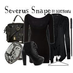 """Severus Snape"" by lalakay on Polyvore"