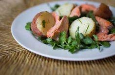 Wild Salmon, New Potato and Green Bean Salad with Sorrel Dressing - JSOnline